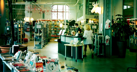 Dieselverkstadens bibliotek