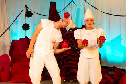 Familjelördag: Marmelad –  cirkusdans