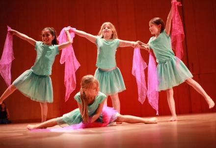 Showdans/ Gymnastik 5-7 år Terminskurs