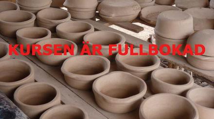 Keramik fortsättning, vuxna från 20 år Terminskurs  Höst-19