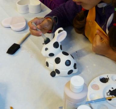 Keramikmålning – prova på helger!