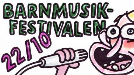 Barnmusikfestival på Dieselverkstaden