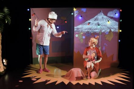 Familjelördag: Panik på playan – Teater Barbara