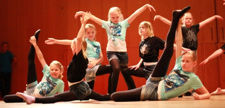 Gymnastik/ Akrobatik/ Showdans 6-7 år (Terminskurs) höst 2018