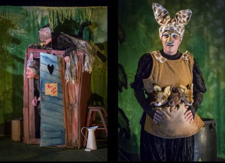 Familjelördag: Vid skogens slut – Pantomimteatern