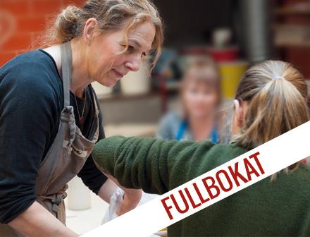 Keramik fortsättning 13-19 år (Terminskurs) vår 2019 FULLBOKAD