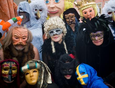 Lördagskarneval och pantomim