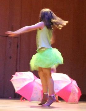 Showdans/Streetdance för 4-6 år Terminskurs