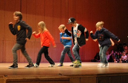 Streetdance/Michael Jackson 7-9 år Terminskurs