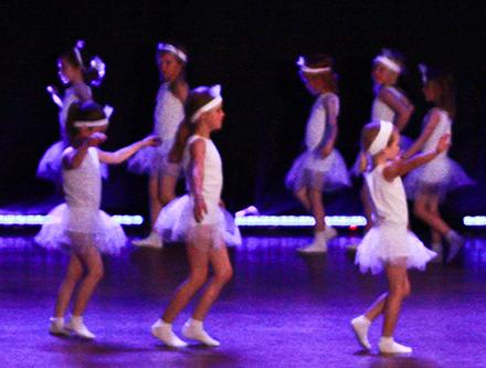 Balett/Gymnastik för 5-6 år Terminskurs