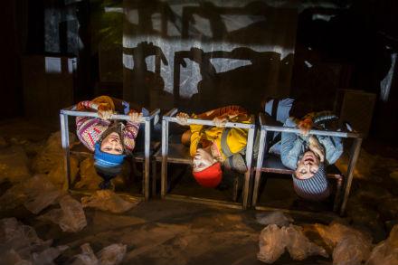 Familjelördag: Hoppet – för jag dog inte – Pantomimteatern