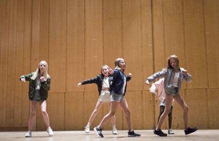 Streetdance/ Showdans 10-12 år Terminskurs