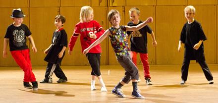 Streetdance/ Michael Jackson 7-9 år Terminskurs