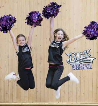 Bliss CHEER 8-11 år. Terminskurs