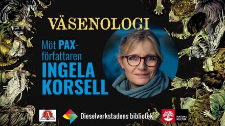 Träffa PAX-författaren Ingela Korsell