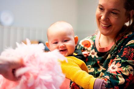Barnrytmik inomhus 0-8 månader höst 2020