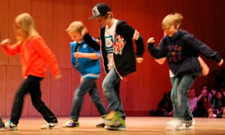 Streetdance/ HipHop/ Gymnastik 8-10 år Terminskurs