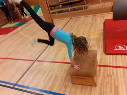 Gymnastik/ Cheerleading/ Showdans 6-9 år Terminskurs