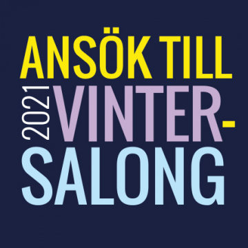 Vintersalong 2021 –  Nu är ansökan öppen